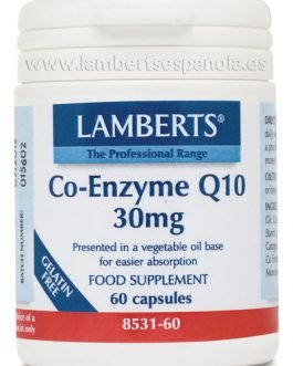 Co-Enzima Q10 30 mg (CoQ10 o ubiquinona)