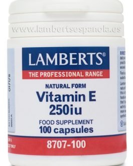 Vitamina E Natural 250 UI (168 mg)