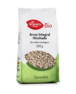 Arroz integral hinchado