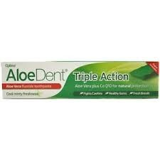 ALOEDENT ALOE VERA triple accion dentifrico 100ml.