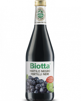 Biotta Mirtilo Negro – 500 ml.